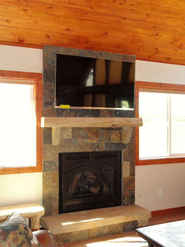 36 House Fireplace
